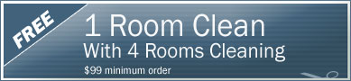 Cleaning Coupons | 1 room cleaning free with with 4 rooms cleaning | Manhattan Carpets