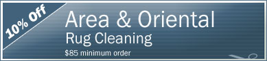 Cleaning Coupons | 10% off area rug cleaning | Manhattan Carpets