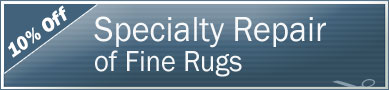 Cleaning Coupons | 10% off rug repair | Manhattan Carpets