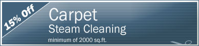 Cleaning Coupons | 15% off carpet steam cleaning | Manhattan Carpets